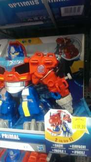 optimus primal rescue bot £19.99 in store at smyths