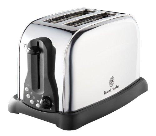 Russell Hobbs 2 slice stainless steel toaster £10 @ Tesco Direct & Amazon
