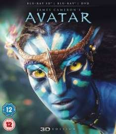 Avatar 3D Blu-Ray £13.99 or 2 3D Blu Rays for £25 @ Zavvi