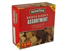 Hometime broken biscuit assortment £1.29 @ Home Bargains
