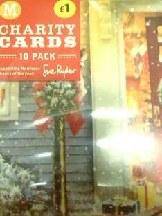 10 Pack Charity Christmas Cards HALF PRICE now 50p @ Morrisons