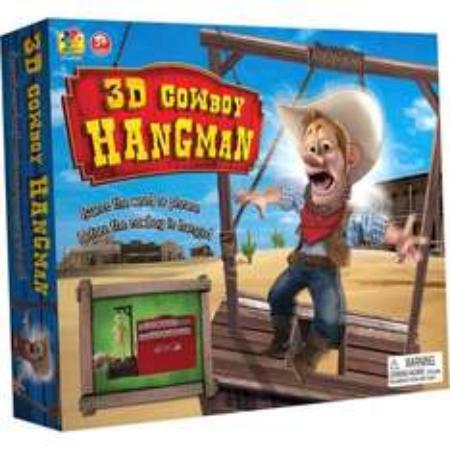 3D COWBOY HANGMAN £4.99 INSTORE & ONLINE @ SMYTHSTOYS