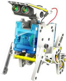 (14 in 1) Build Your Own Solar Robot Kit £7.99 INSTORE & ONLINE @ Poundstretcher