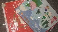 Half Price individual Christmas cards in Marks and Spencer