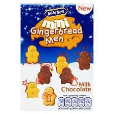 Mcvities Mini Chocolate Gingerbread Men 100g Box 40p @ Asda Instore