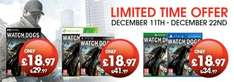 Watch Dogs XBOX ONE | PS4 (OUT OF STOCK) NEW @ GAMESTOP FREE Delivery over £20 or £2 if under