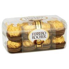 Ferrero Rocher 16 Pieces Boxed Chocolates 200G (£0.1875 each) at Tesco