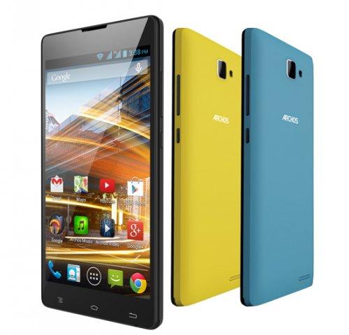 5 inch quad core SIM free smartphone for under £80 Archos 50 Neon Argos