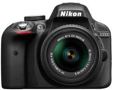 Amazon are selling Nikon SLR Camera D3300 with 18-55mm VR II Lens Kit - Black (24.2MP) 3.0 inch LCD - £379.00