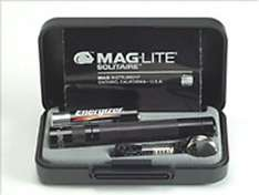 Maglite Solitare torch gift box set - £6.49 from Amazon