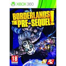 Borderlands the Pre-Sequel XBox 360 - in store Tescos / £19 with double pack online