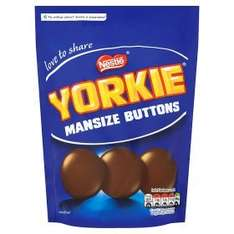 Yorkie Man Size Buttons Pouch £1 (was £1.59) at Asda
