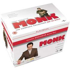 Monk - The Complete Collection on DVD with Free Delivery @ Zavvi.com