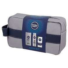 Amazon NIVEA MEN Wash Bag £6