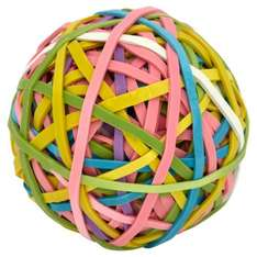 Wilko multi-coloured 170 Rubber Bands for £1.50 @ WILKO
