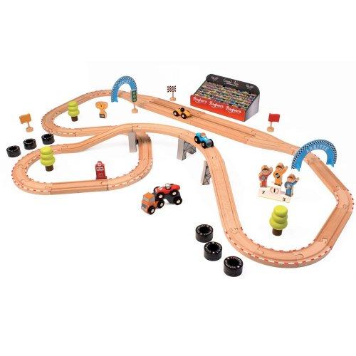Baghera Wooden Grand Prix Race Track £20 @ TK Maxx