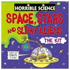Horrible Science Kit  Space, Stars & Slimy Aliens @ £6 /  Horrible Science - Shocking Rocket - The Kit  £4.46 @ Tesco Direct