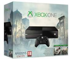 Xbox One Console with Assassin's Creed: Unity and Assassin's Creed IV: Black Flag £309.85 @ Amazon