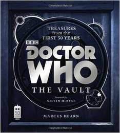 Doctor Who: The Vault Hardcover £5  (free delivery £10 spend/prime) @ Amazon