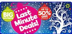 Half price sale @ The entertainer  starting at £1.50