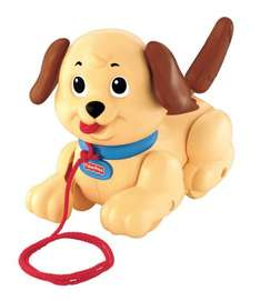 Fisher-Price Lil' Snoopy Pull Along Dog, £6.99  (Add-on item Free Del £10 order) @ Amazon
