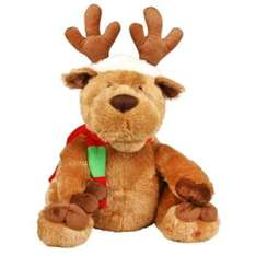 Large singing and swaying reindeer B&Q £10 from £30