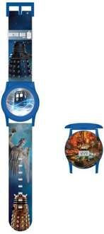 Doctor Who Boy's Quartz Watch with LCD Dial Digital Display and Multicolour Plastic Strap £5.94  (free delivery £10 spend/prime) @ Amazon