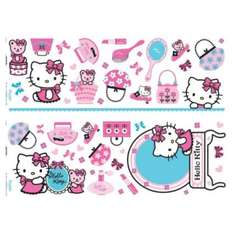 Hello kitty wall transfers £1 from b&q free c+c