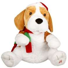 Large Singing & Swaying Puppy was £30 NOW £10 @ B&Q