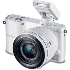 Samsung NX1100 Compact System Camera with 20-50mm £199.99 @ Argos