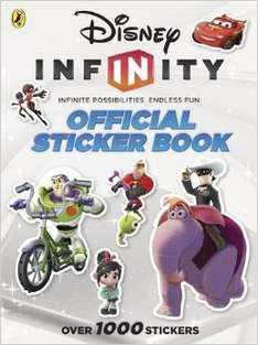 Disney Infinity Official Sticker Book (over 1000 stickers) in 99P Store