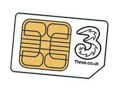 three sim plan 200mins 2 GB of 4g internet and unlimited texts £10 a month