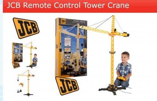 An amazing Christmas gift for little boys - JCB Crane £9.99 @ Home Bargains