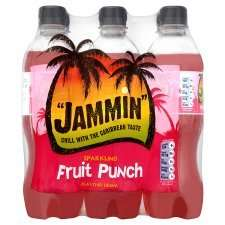 Jammin Fruit Punch Sparkling Drink 6 X 500Ml £1.00 @ Tesco
