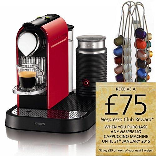 Krups Nespresso Citiz & Milk Coffee Machine with  Krups Nespresso Capsule Holder for £137.95 at Harts of Stur