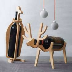 Penguin or Reindeer Wine Rack (Your Choice!) £25.75 @ notonthehighstreet.com