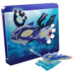 Pokemon Omega Ruby and Alpha Sapphire steelbook editions back in stock at Nintendo store w/ figurines £39.99