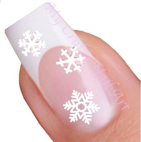White Snowflake Winter Nail Stickers Art / £2.05 @ My Crafty UK Ltd Amazon