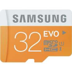 Samsung UHS-I CLASS 10 32GB SD Micro Card with Adapter £11.64 & FREE Delivery in the UK Dispatched from and sold by Amazon.