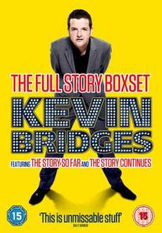 Kevin Bridges: The Full Story Contains The Story so Far and The Story Continues £4.99 @ Amazon (free delivery £10 spend/prime)