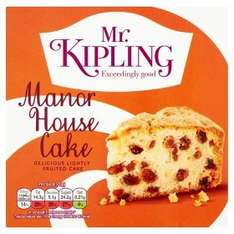 Mr Kipling Manor House Cake £0.96 @ Asda
