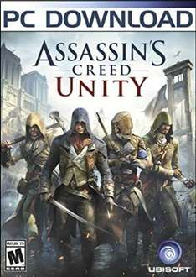 Assassins creed unity pc download £18.49 @ Amazon US