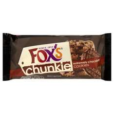 Fox's Delicious Cookies Extremely Chocolately 175g £0.89 from Morrisons