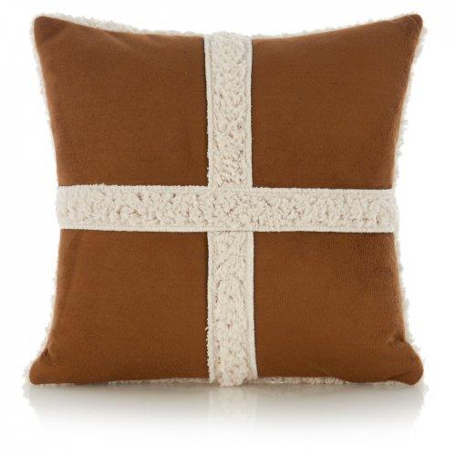 'faux' sheepskin cushion was £7, now £1.75! at asda direct
