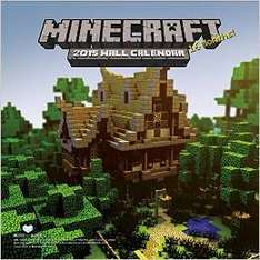 minecraft calendar @ amazon (Free delivery £10 spend / Prime)