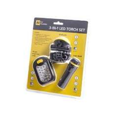 AA car essentials 3 in 1 led torch set £5.99 @ Home Bargains