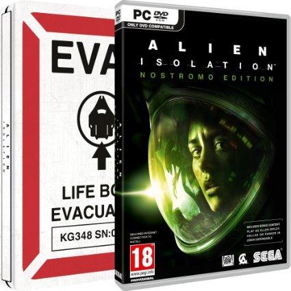 Alien: Isolation (PC Nostromo Edition Steelbook) Delivered £24.99 @ Amazon
