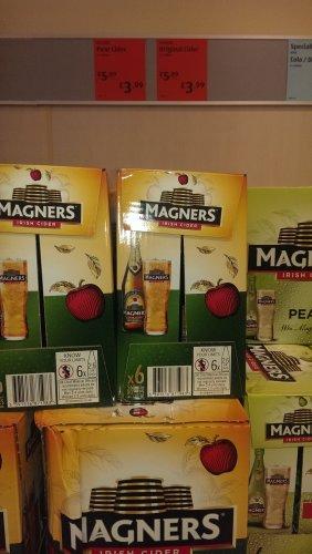 magners pear, Apple cider 3.99 x6 @ Aldi