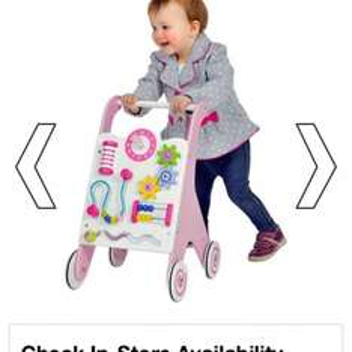 Wooden baby walker £5 @ Smyths Toys (Instore)