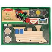 Melissa & Doug Decorate Your Own Wooden Train £3.80 @ Tesco Direct